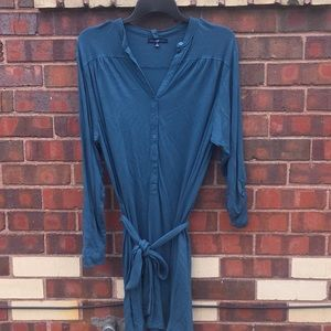 GAP t-shirt tunic dress with optional belt